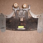 Old school double bass pedal. Photo courtesy of Wikipedia.org